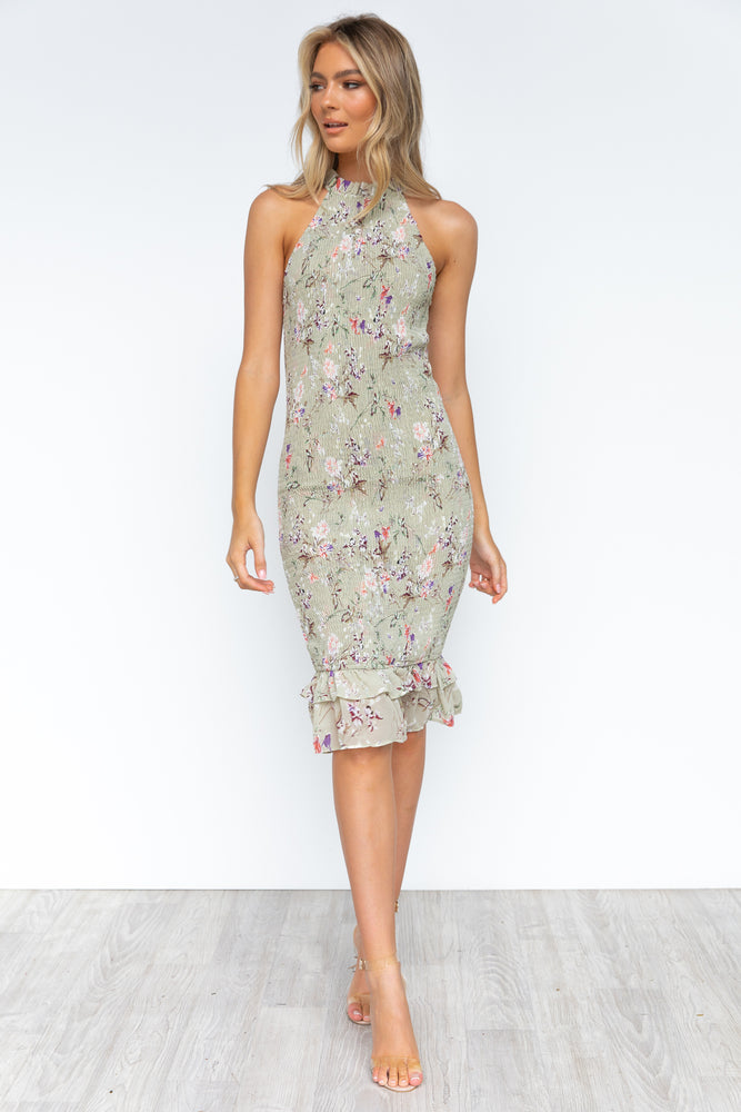 Allegra Dress - Sage