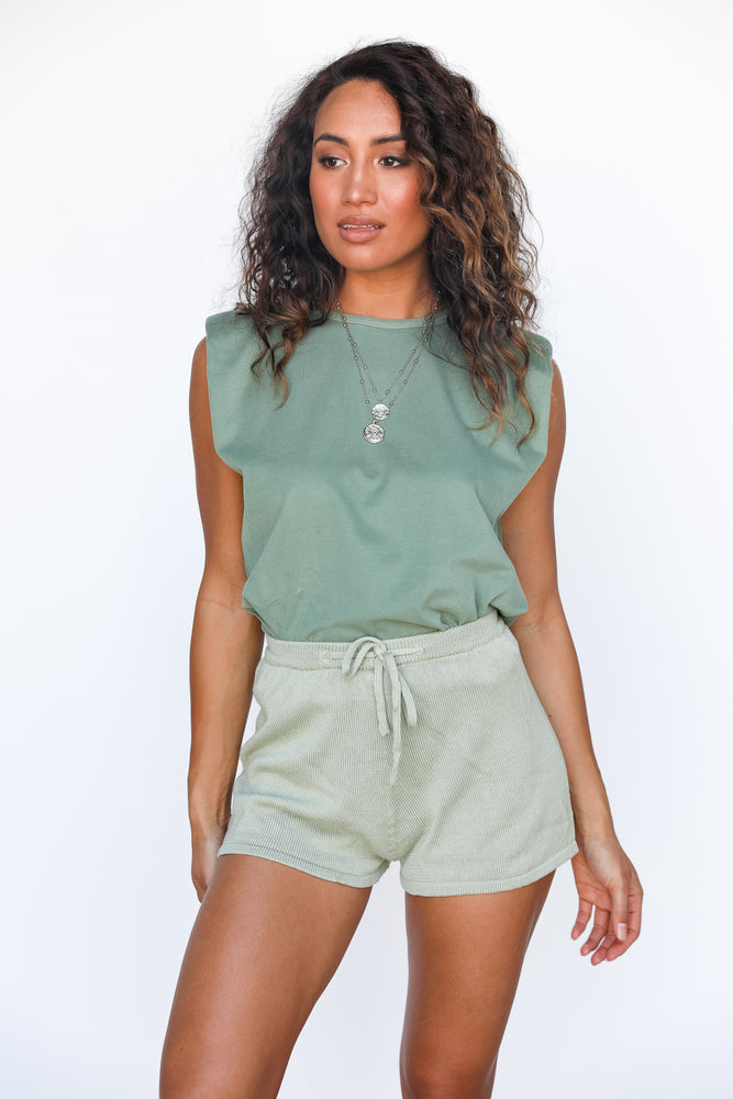 Tully Shorts - Sage