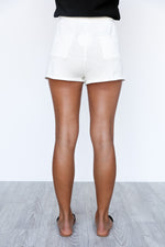 Tully Shorts - Ivory