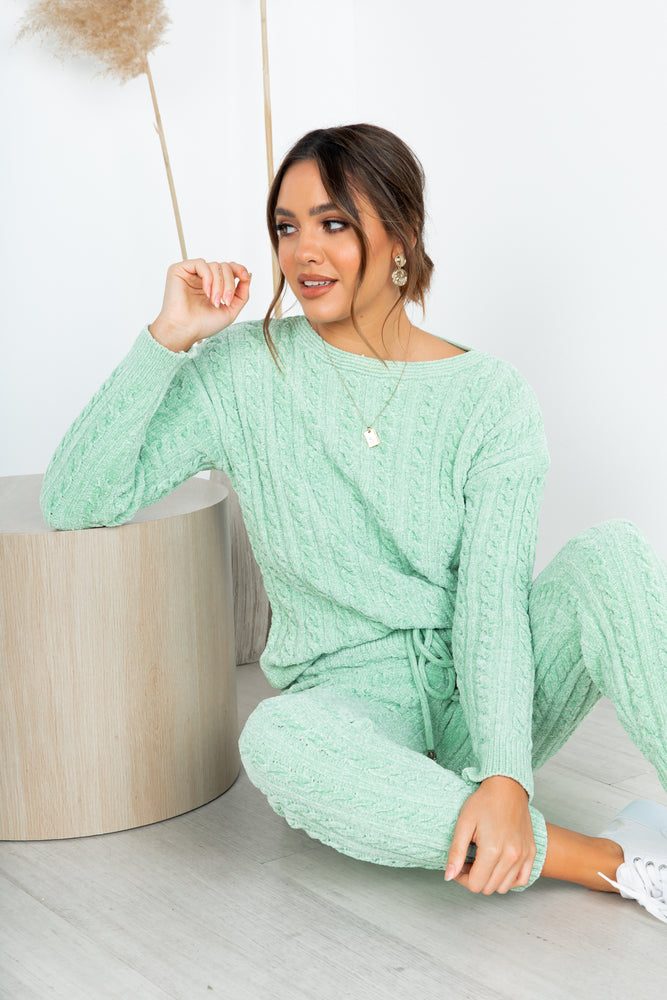 Desi Knit Set - Sage