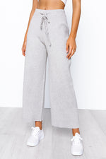 Dylan Knit Pants - Grey