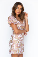 Isla Dress - Rose Gold