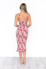 Sammi Dress - Pink/Floral