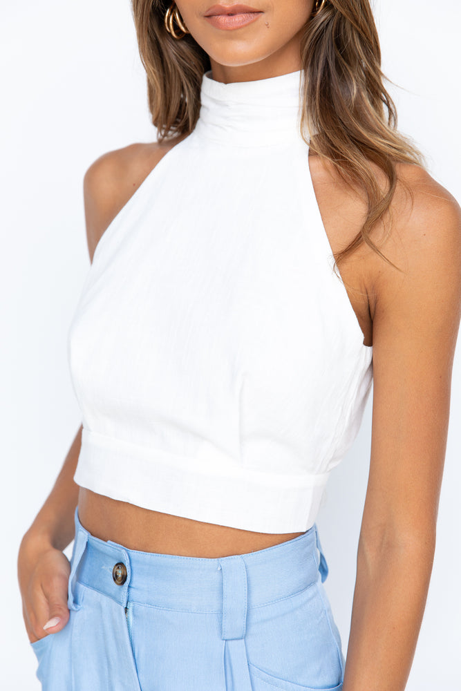 Lilia Top - White