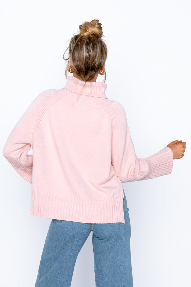 Willow Knit Top - Blush