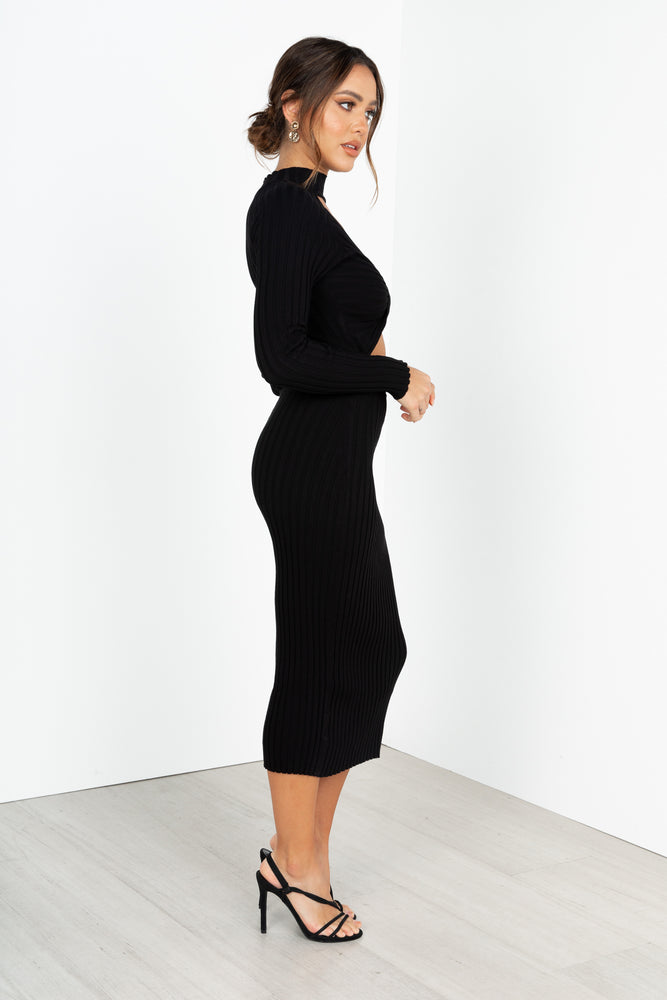 Daria Dress - Black