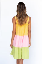 Milano Dress - Yellow