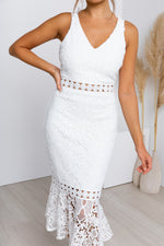 Blair Dress - White
