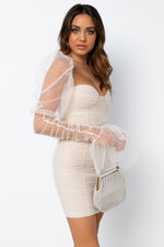 Rosalia Dress - Nude
