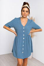 Nelly Dress - Teal