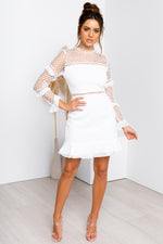 Parson Dress - White
