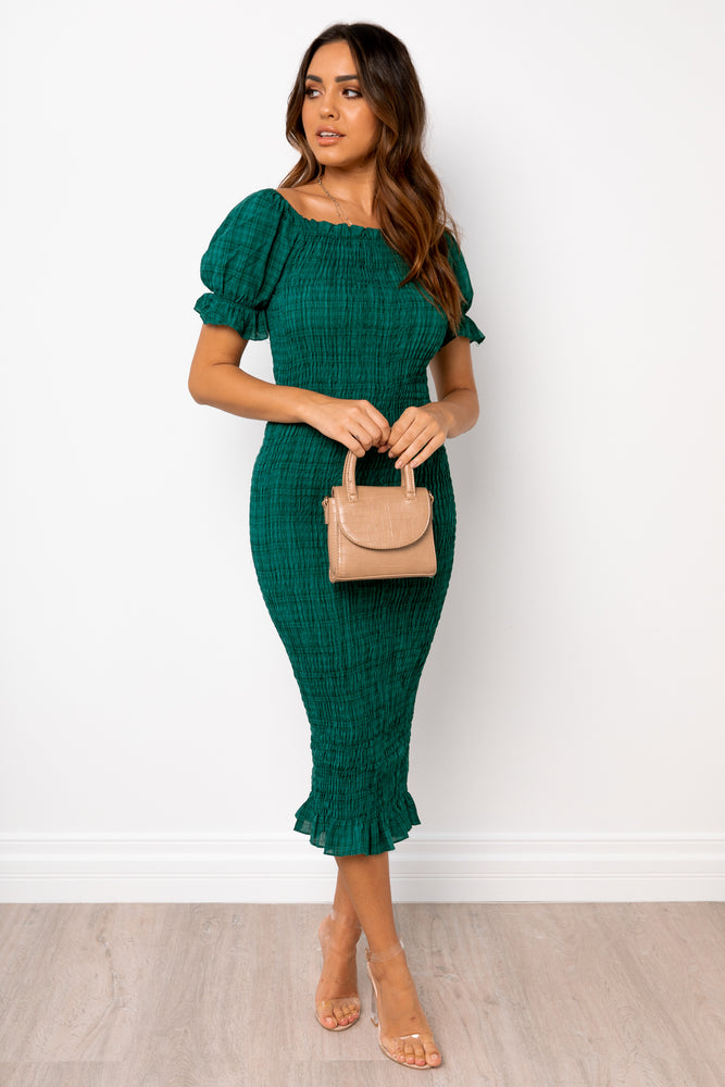 Edmiston Dress - Emerald [Pre order]