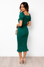 Edmiston Dress - Emerald