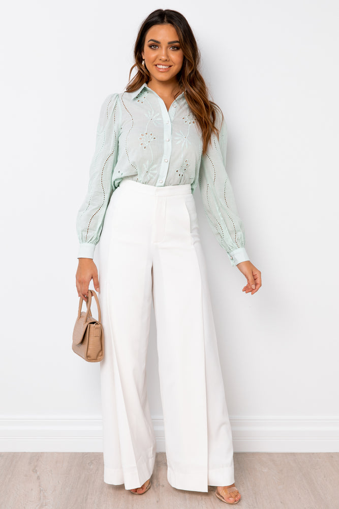 Knowles Blouse - Mint