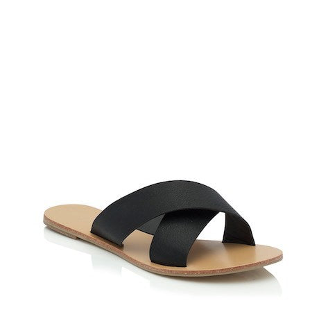 Majorca Slides - Black -Billini