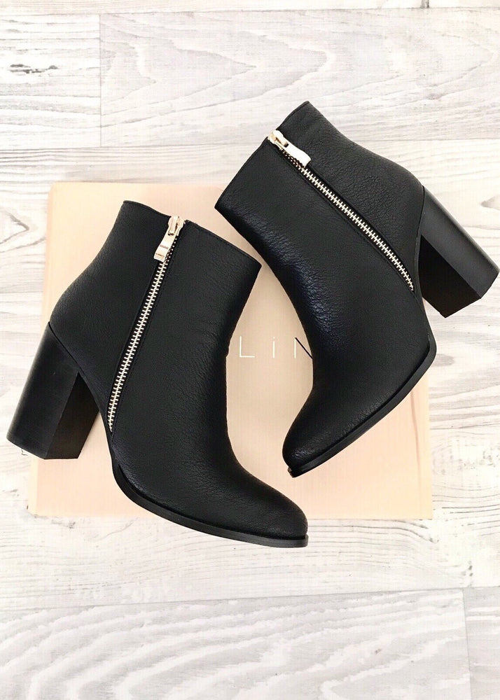 Charli Ankle Boots - Black