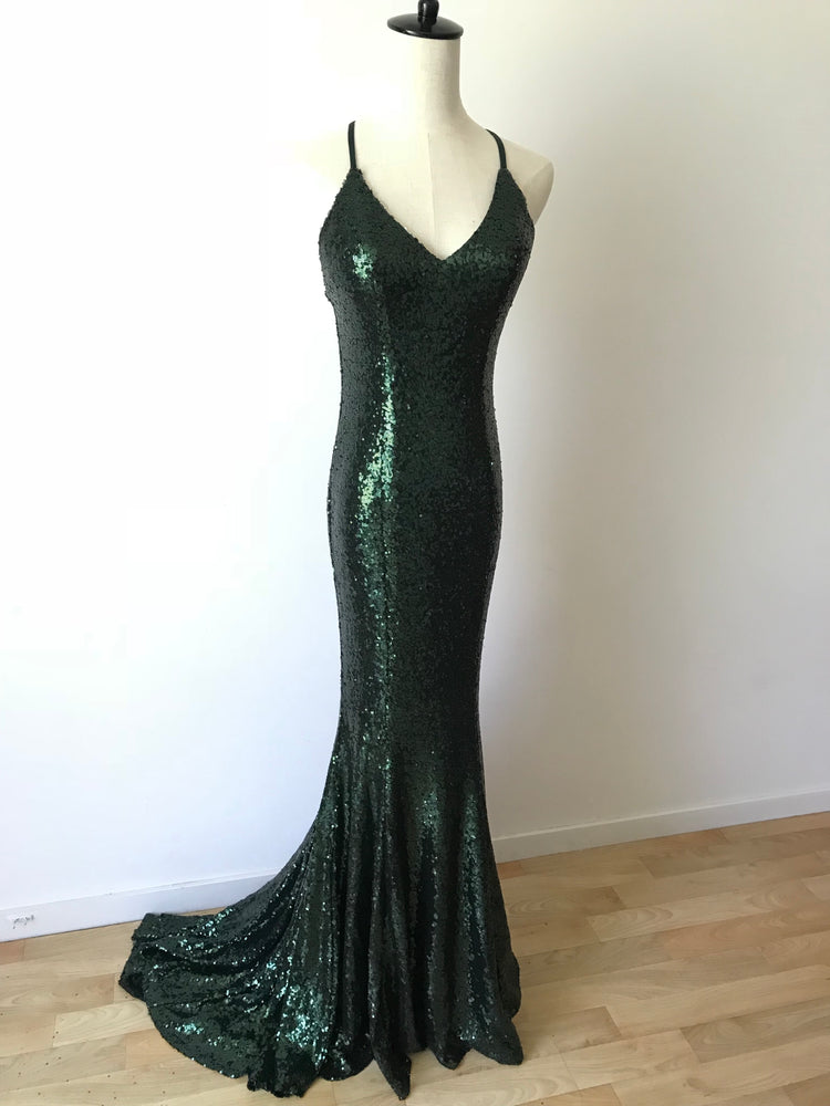 EMERALD MERMAID GOWN - STYLE STRUCK