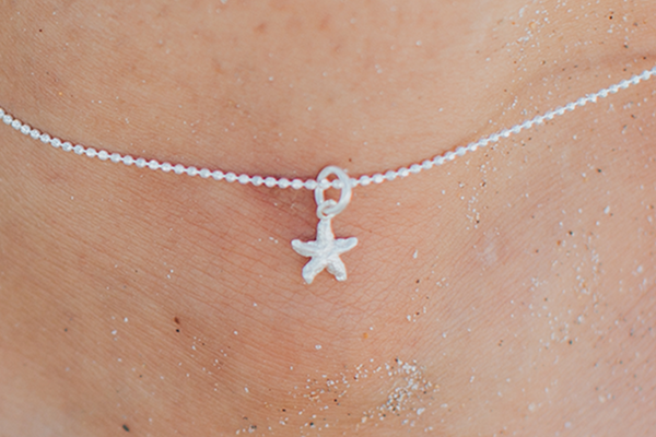Small Starfish Anklet