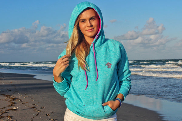Electric Turquoise Hoodie