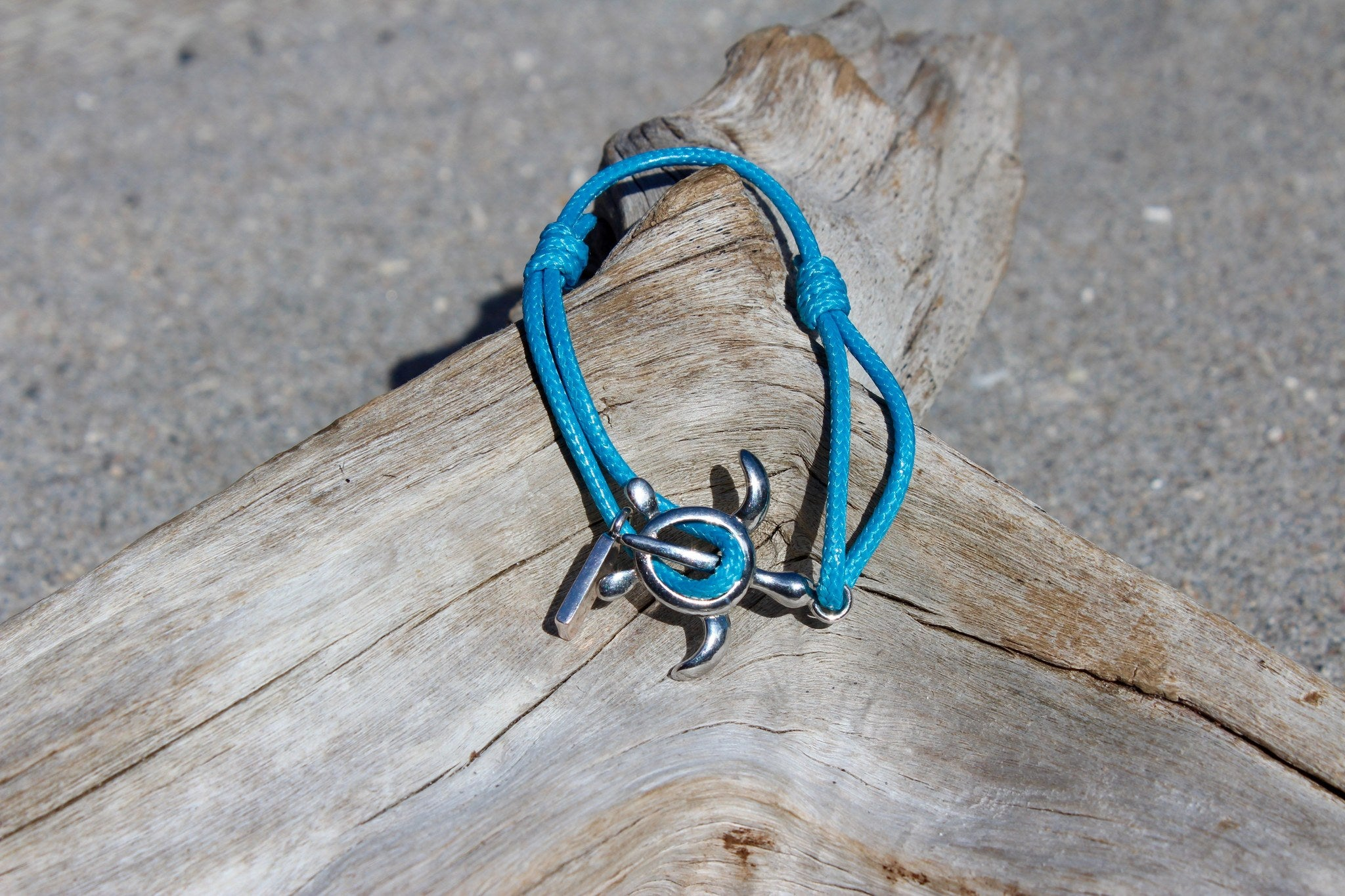 img beads blue products bright sea bracelet turtle sun light nautical