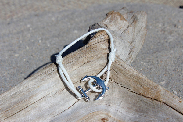 Large Anchor Bracelet
