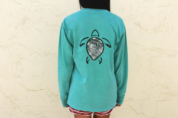 Palm Breeze Long Sleeve