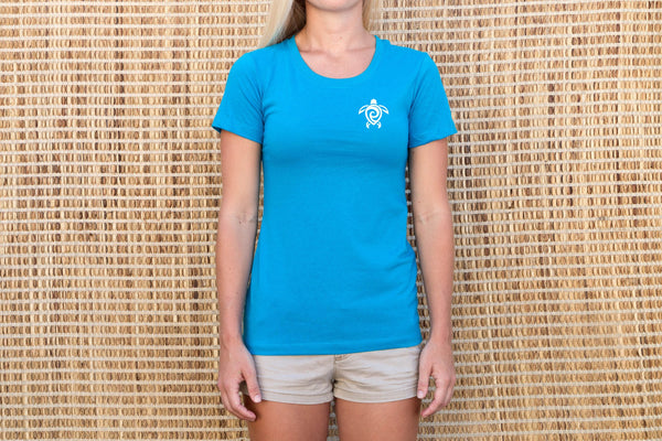 Tropical Blue Tee