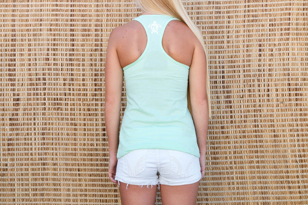 Sea Foam Green Tank