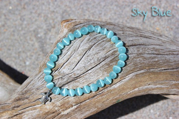 Individual Beach Glass Bracelet