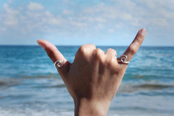 Devocean Wave Ring
