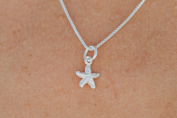Small Starfish Necklace