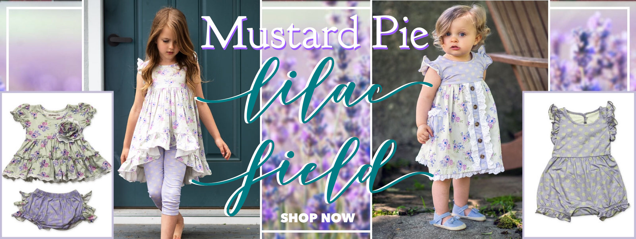 Mustard Pie Lilac Field Spring 2020 Collection