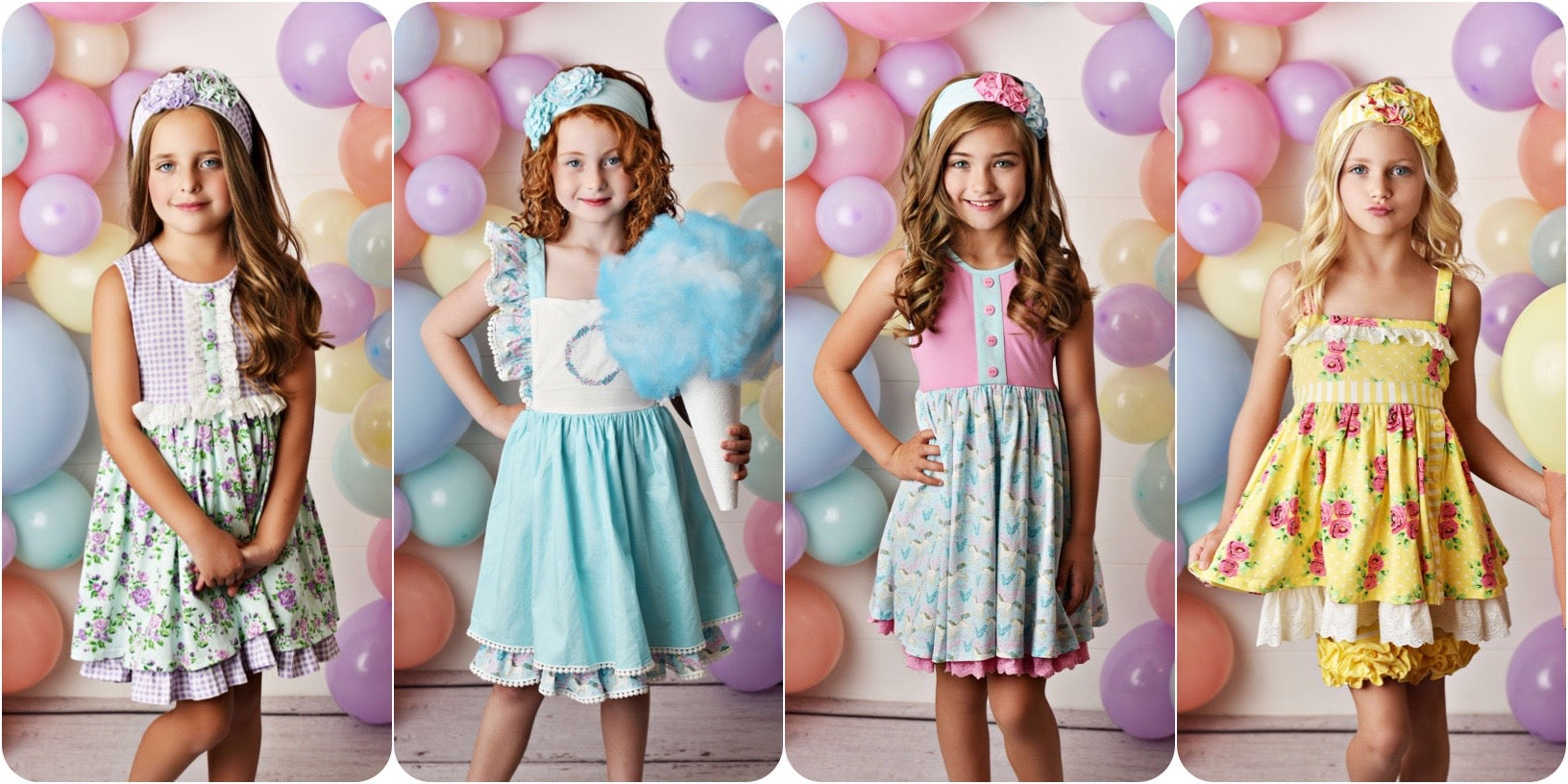 Serendipity Clothing Company Spring 2020 Collection available at Threadfare Children's Boutique
