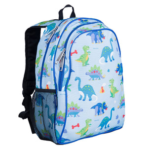 "Wildkin Olive Kids Dinosaur Land 15"" Backpack"