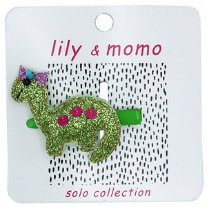 Lily & Momo Solo Collection | Baby Brontosaurus Hair Clip