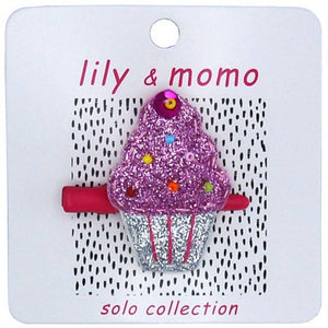 Lily & Momo Solo Collection | Cutie Cupcake Hair Clip