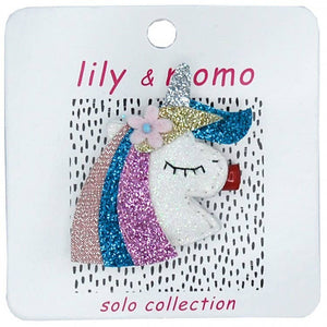 Lily & Momo Solo Collection | Twinkle Unicorn Hair Clip