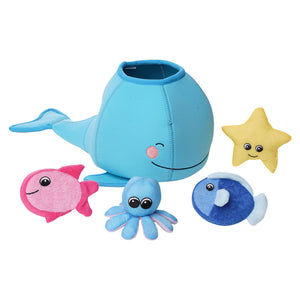 Manhattan Toy | Whale-Floating Fill n Spill Bath Toy