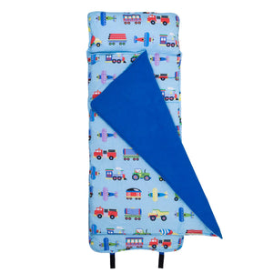 Wildkin Olive Kids Trains Planes and Trucks Original Nap Mat