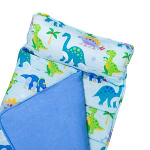 Wildkin Olive Kids Dinosaur Land Original Nap Mat close up