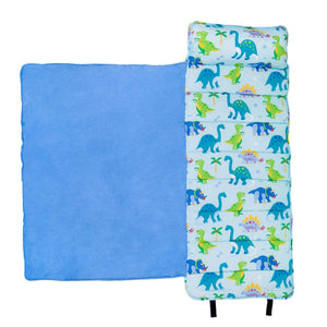 Wildkin Olive Kids Dinosaur Land Original Nap Mat inside