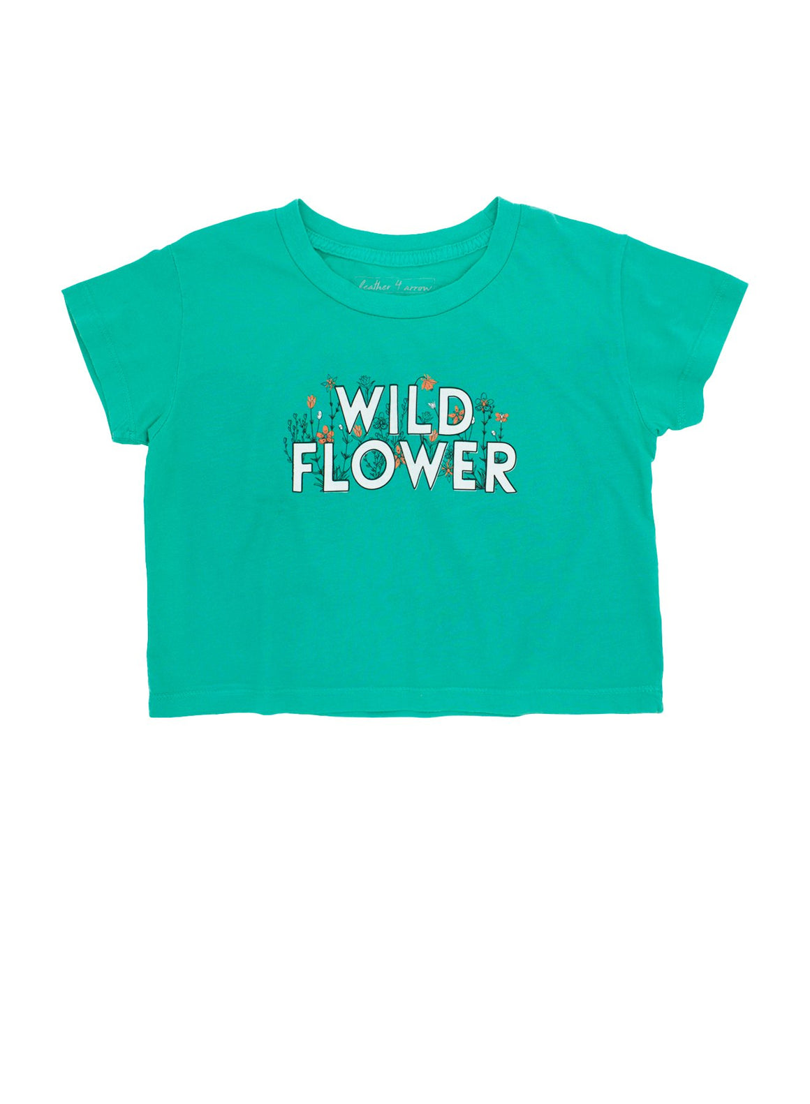 Feather 4 Arrow | Wild Flower Cropped Tee