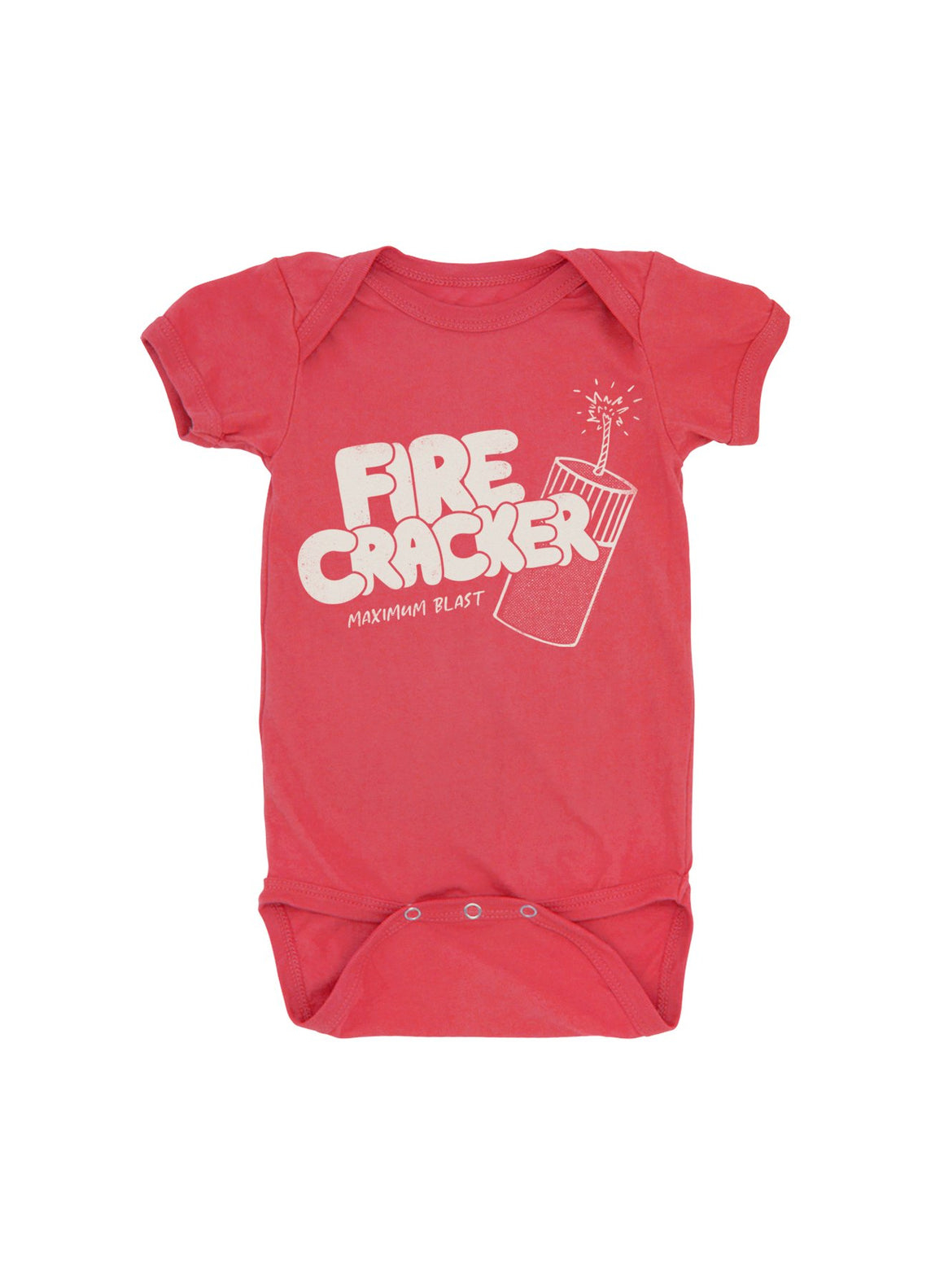 Feather 4 Arrow | 4th of July 'Firecracker' Onesie