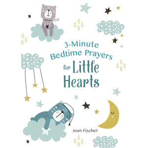 '3-Minute Bedtime Prayers for Little Hearts ' Book | Jean Fischer