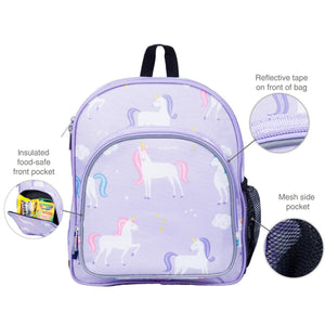 "Wildkin Olive Kids Unicorn Toddler 12"" Backpack details"