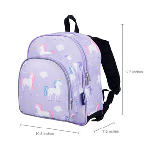 "Wildkin Olive Kids Unicorn Toddler 12"" Backpack sizing"