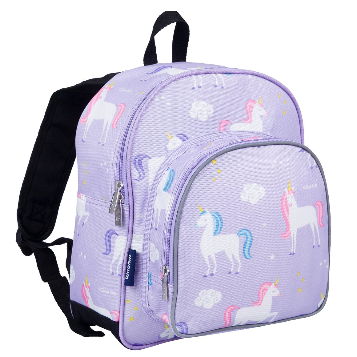 "Wildkin Olive Kids Unicorn Toddler 12"" Backpack"