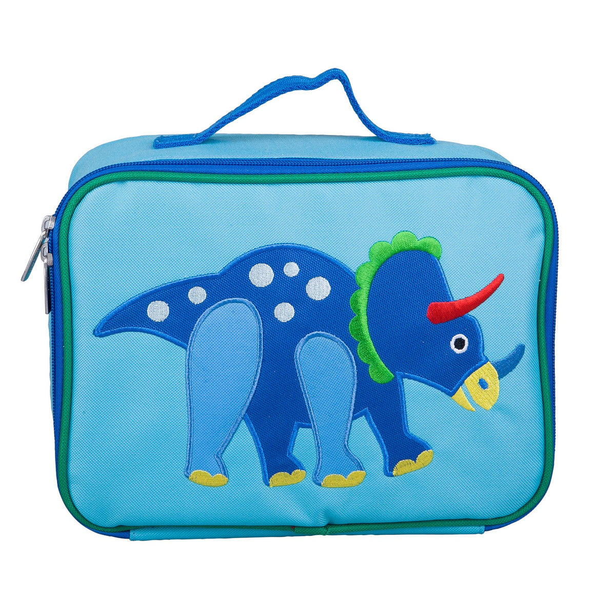 Wildkin Olive Kids Dinosaur Land Embroidered Appliqué Lunch Box