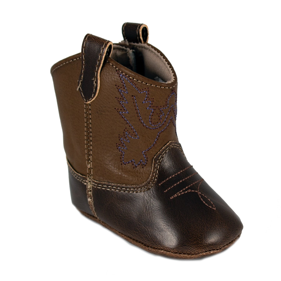 Baby Deer | Miller Cowboy Boot | Infant Soft Sole Brown