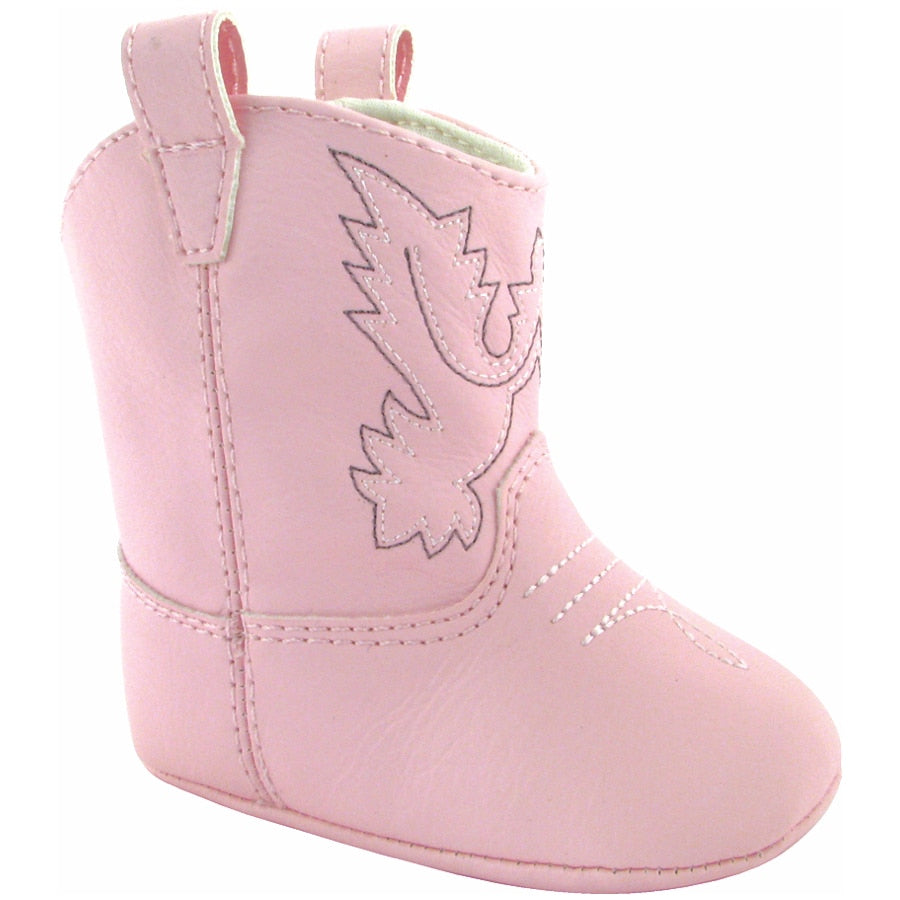 Baby Deer | Miller Cowboy Boot | Infant Soft Sole Pink